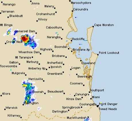 WARNING: The Sunshine Coast has been warned to brace for severe thunderstorms today.