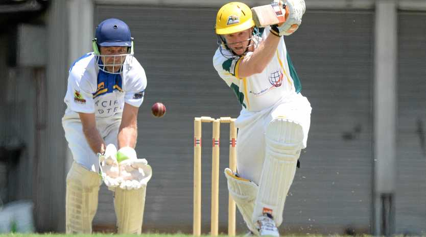 RUN MACHINE: Talented batsman Todd Harmsworth will line up with the CQ Seamers at the Bulls Masters T20 Country Challenge in Mackay.