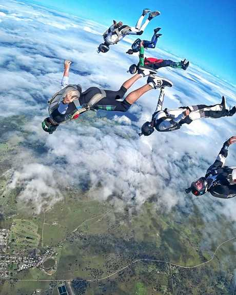 The World Parachuting Championships are on now.