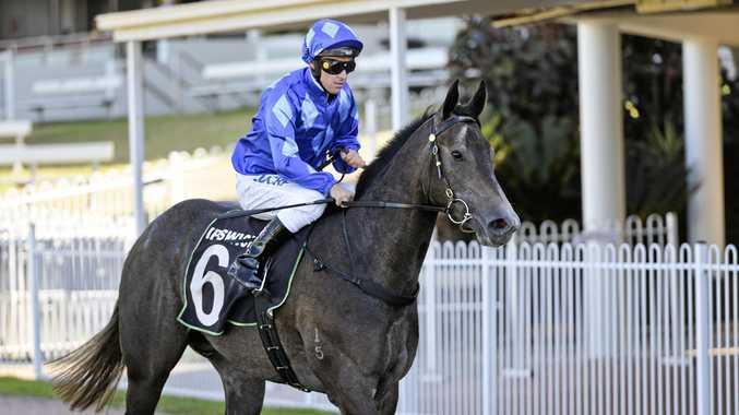 Winning jockey Ryan Maloney aboard Jami Lady.
