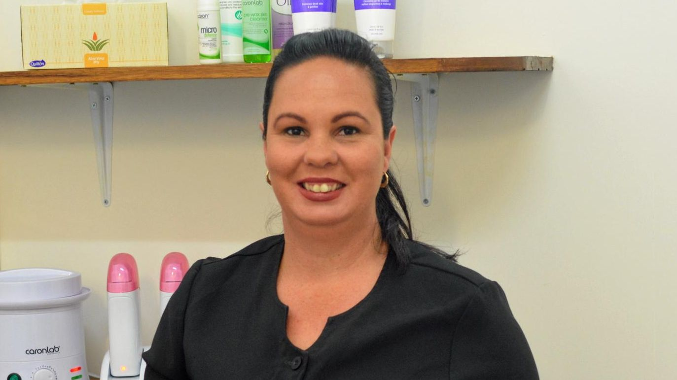 Mum-of-five Patricia McShane's new Serenity Beauty Bar is open for business in Kyogle.