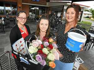 Leasa's roses net more than $11,000 for Gympie Hospital