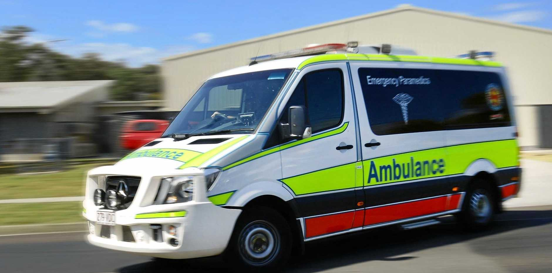 Two injured after an early morning crash in West Mackay.