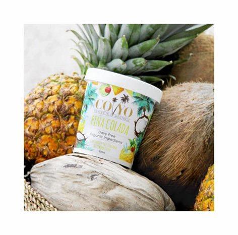 Guilt-free coconut yoghurt and ice cream, Coyo.