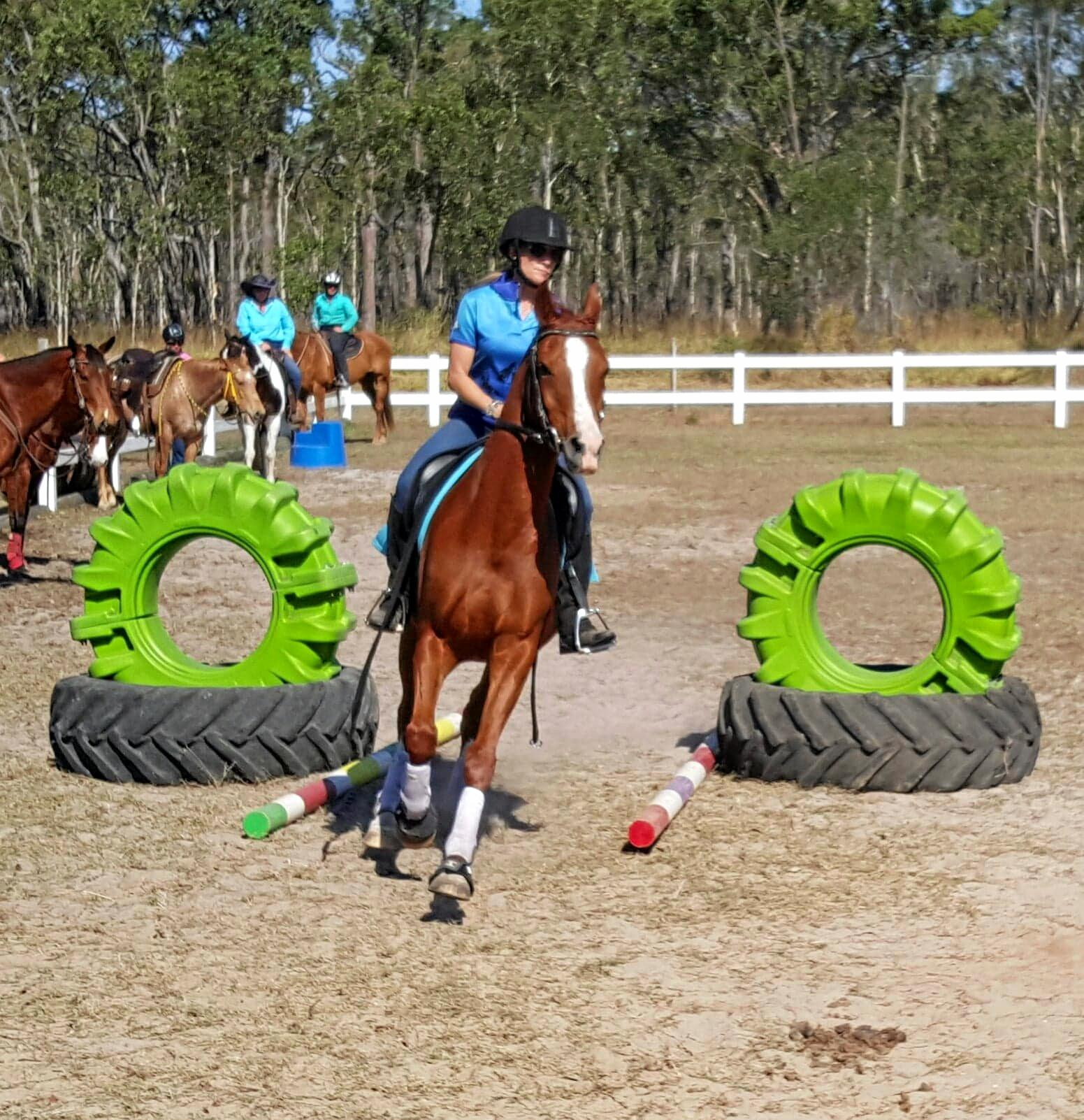 Burrum District Active Riders Cole Cameron One-Day Clinic held last month at Tobanlea.