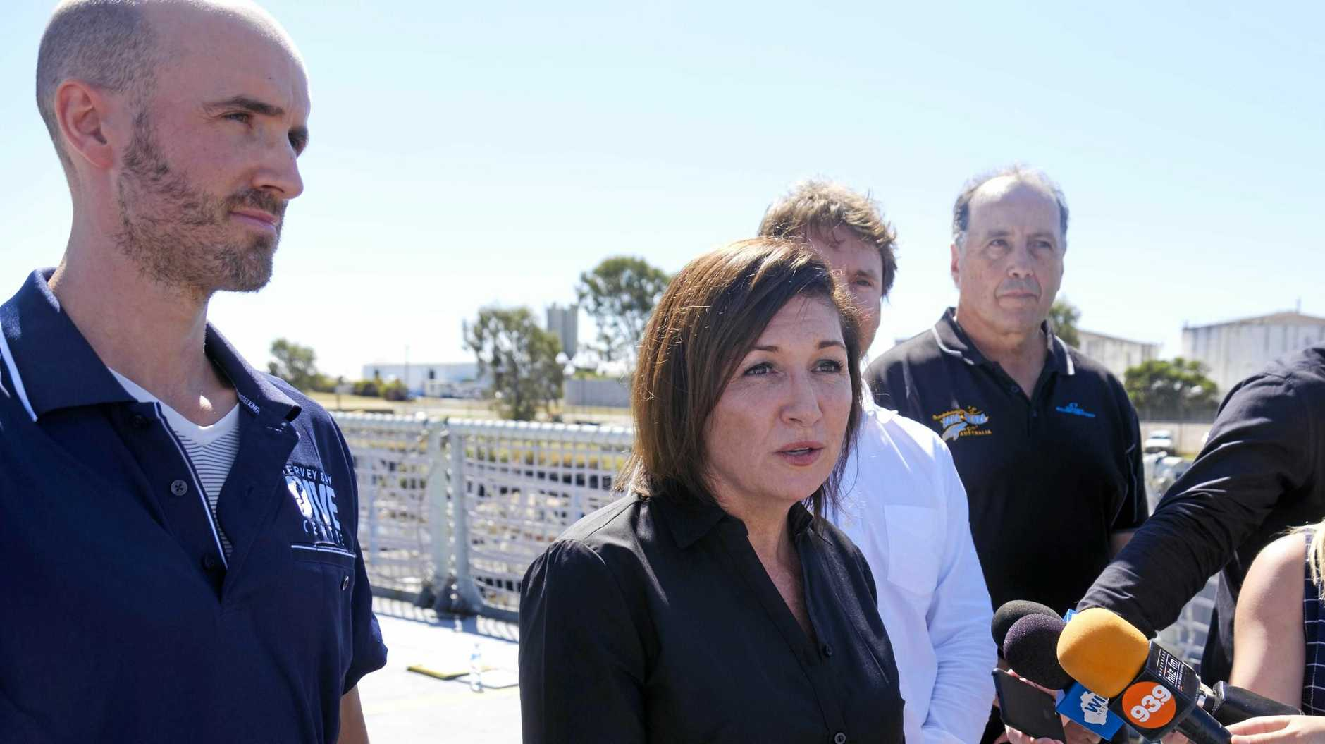 UNACCEPTABLE: State Environment Minister Leeanne Enoch has called for Fraser Coast councillor James Hansen to resign after he made comments on social media about her race and skin colour.
