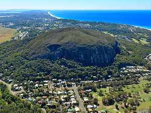 Chopper vision: Mt Coolum climber saved after snake bite