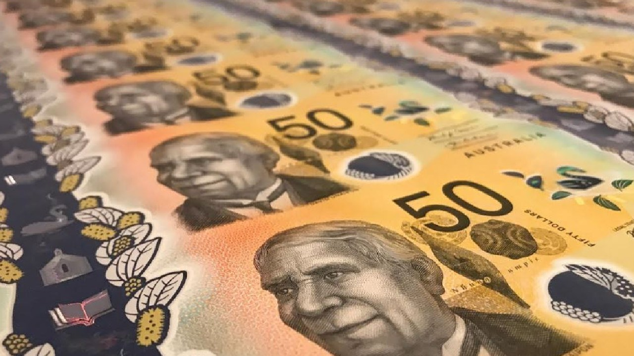 Australia has a new $50 note. Picture: Rohan Smith/news.com.au