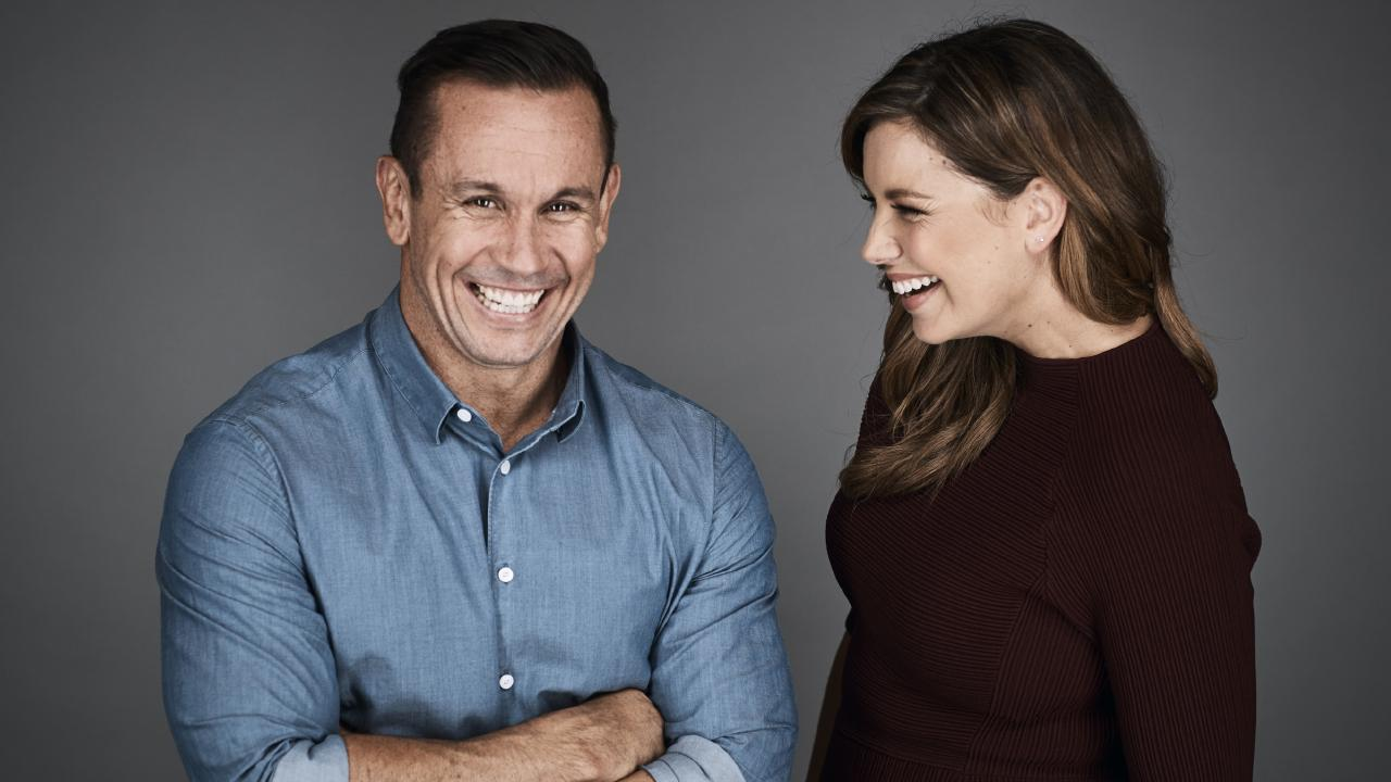 Foxsports personality Matty Johns (above with Yvonne Sampson) said on Triple M that the Footy Show was not the same without Fatty Vautin. Picture: Fox Sports