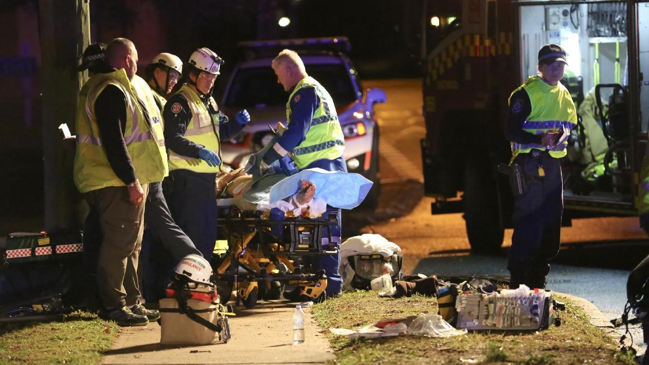 Police are investigating the crash.