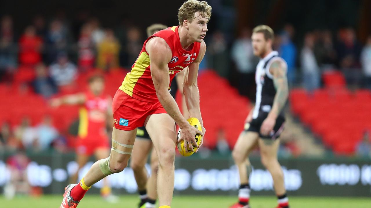 Tom Lynch has joined Richmond on a seven-year deal. Picture: Chris Hyde, Getty Images.