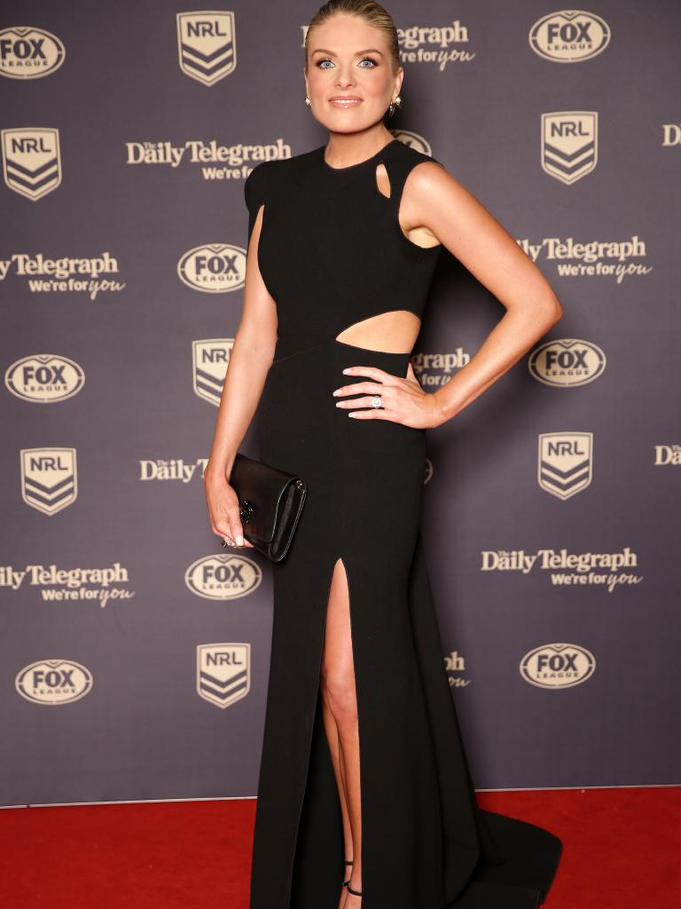 Erin Molan at the 2018 Dally M Awards. Picture: Christian Gilles.