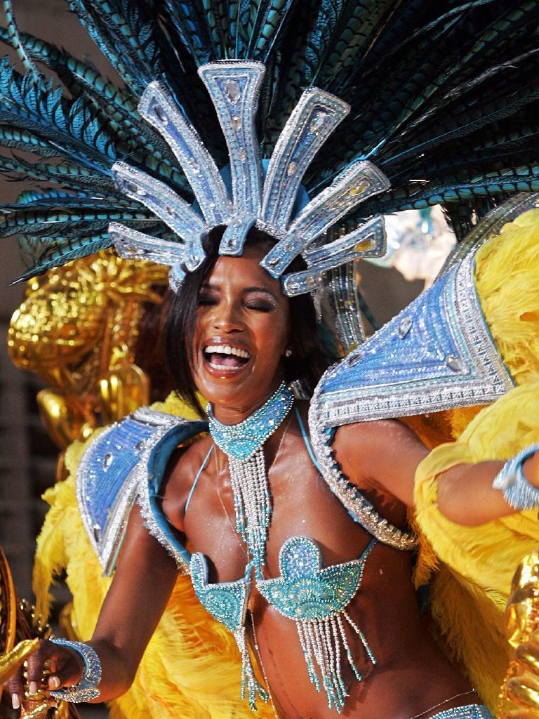 Rio Mardi Gras headdress …