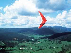 Race against storms to rescue hang-glider