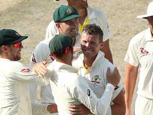 'Today was a nice reward': Siddle impressive in return to baggy green