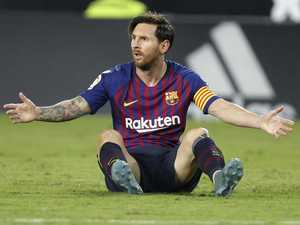 'Out of thin air': Messi brilliance saves Barca's blushes