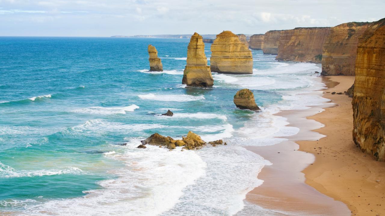 The 12 Apostles in Victoria. Picture: iStock