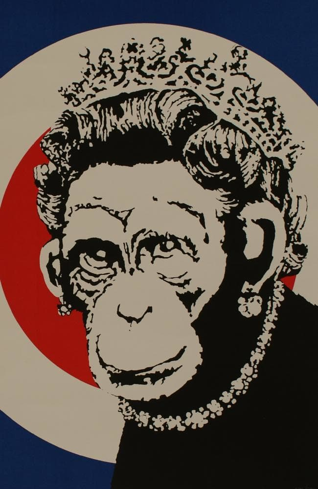 Banksy works, like Monkey Queen, continue to be widely appreciated — and sought after.