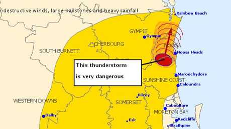 WARNING: The Bureau of Meteorology has issued this warning.