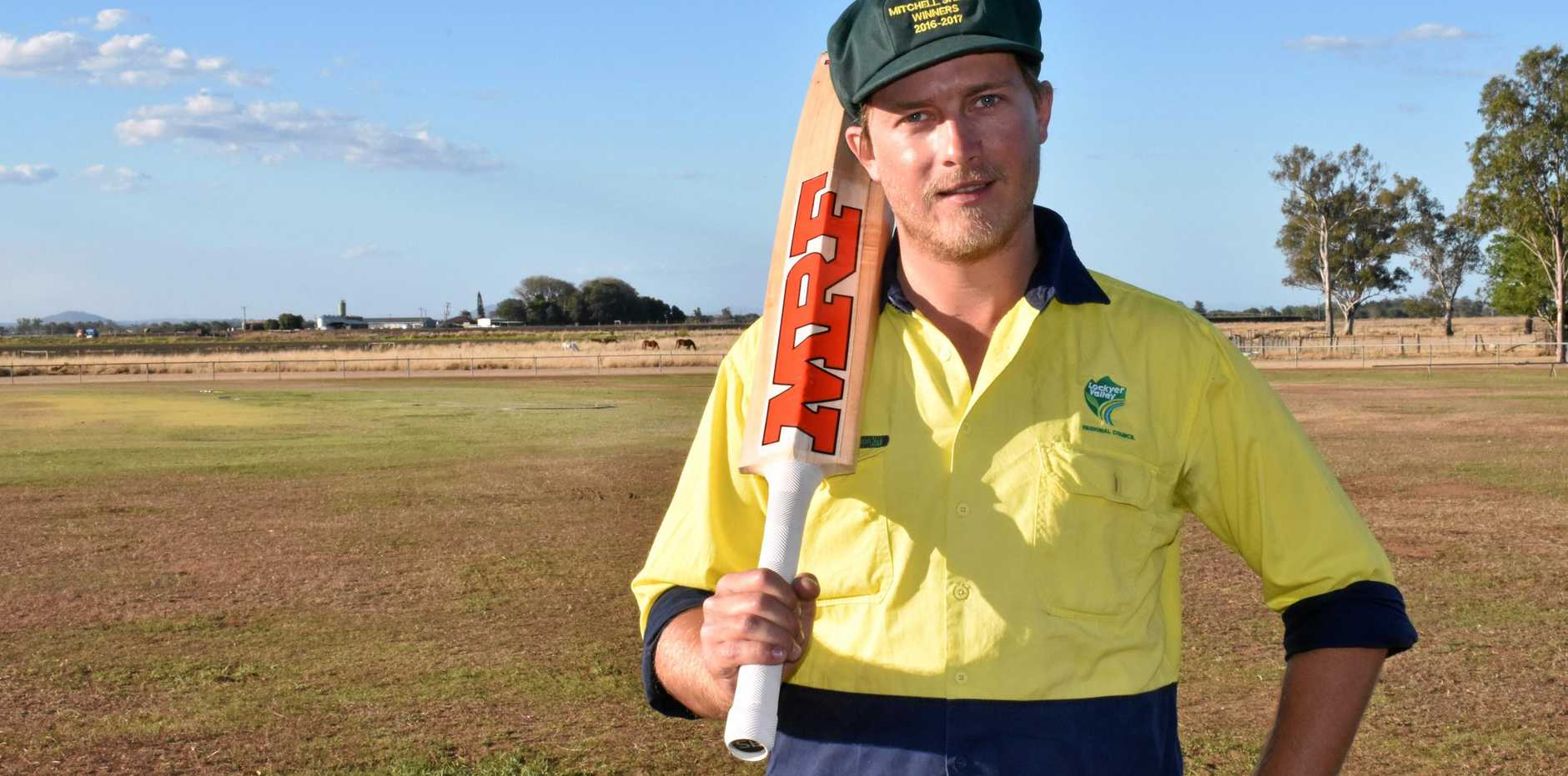 CHANCE TO IMPRESS: Lockyer Lightning captain Shanley Neuendorf was impressed with his young side as they made a successful start to their first season in the Harding-Madsen Shield against the South East Redbacks on Saturday.