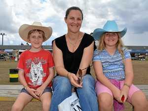 Lowood rodeo lassos competitors