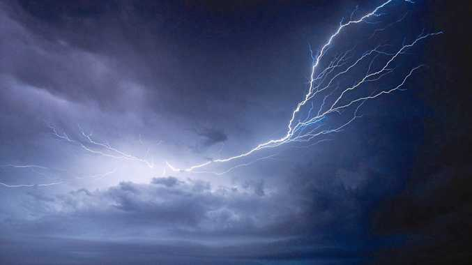 THUNDER STRUCK: The Bureau of Meteorology said the Lockyer Valley and Somerset regions should brace for severe thunderstorms during the coming week.