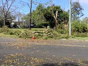 Damage on Bricalli Rd