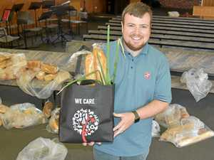 Farmer finds relief in one simple bag from the Salvos