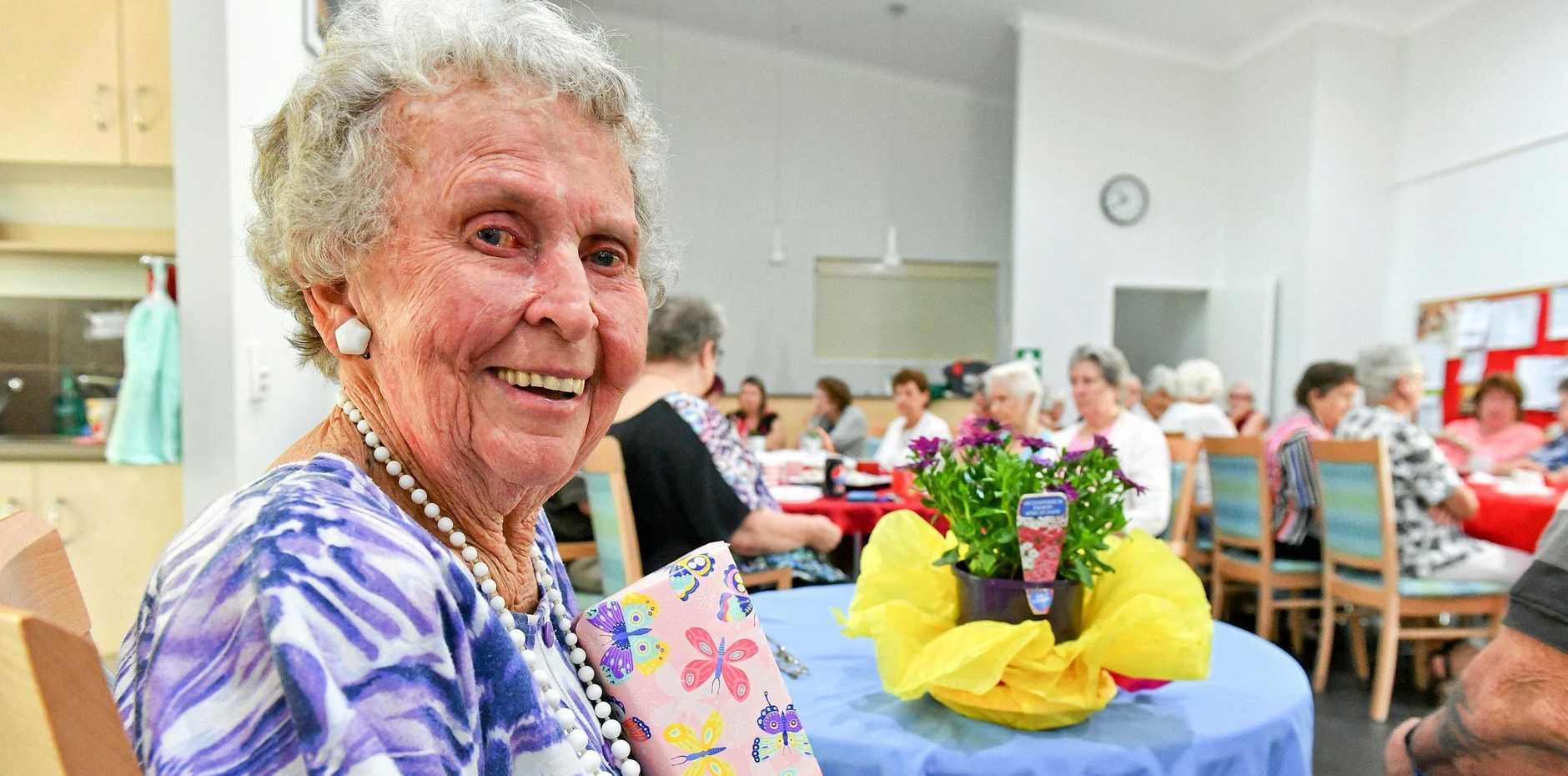 FULFILMENT: Merle Spann recently celebrated her 90th birthday.