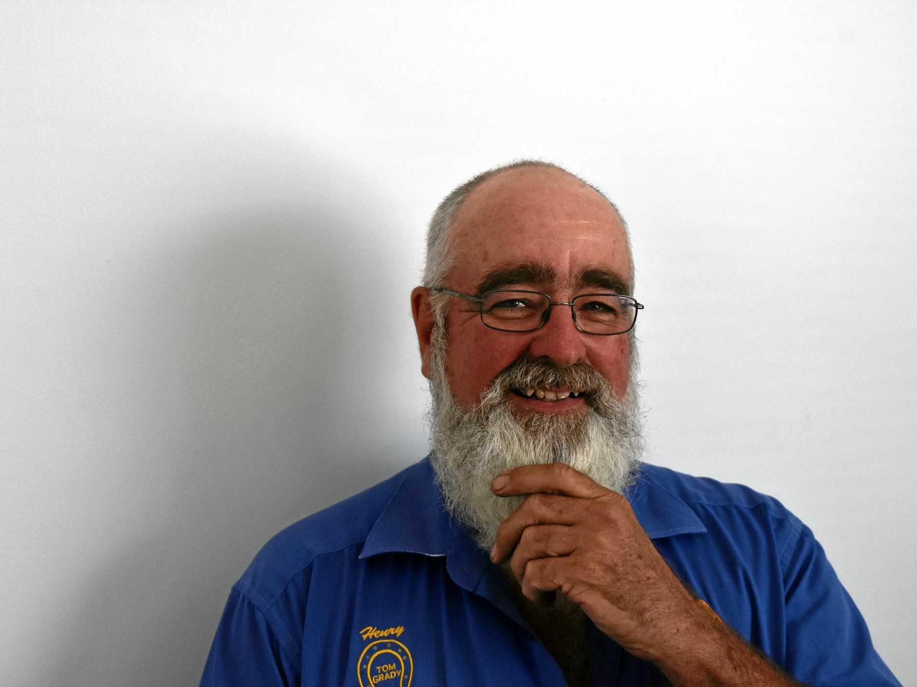 Henry Lowe will judge the Gold Rush Festival's Big Beard Bonanza.