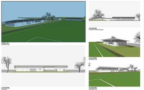Plans for the development of the upgraded Kingscliff Sport and Recreation Complex.