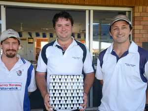 See which teams are drawn in Warwick cricket, round 1