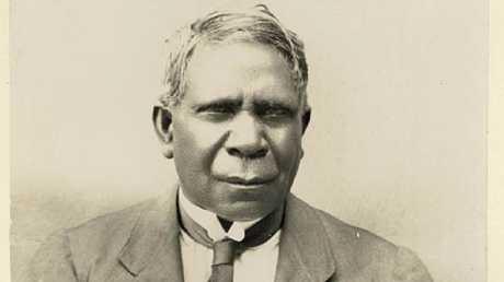 Author, inventor and Aboriginal spokesman David Unaipon
