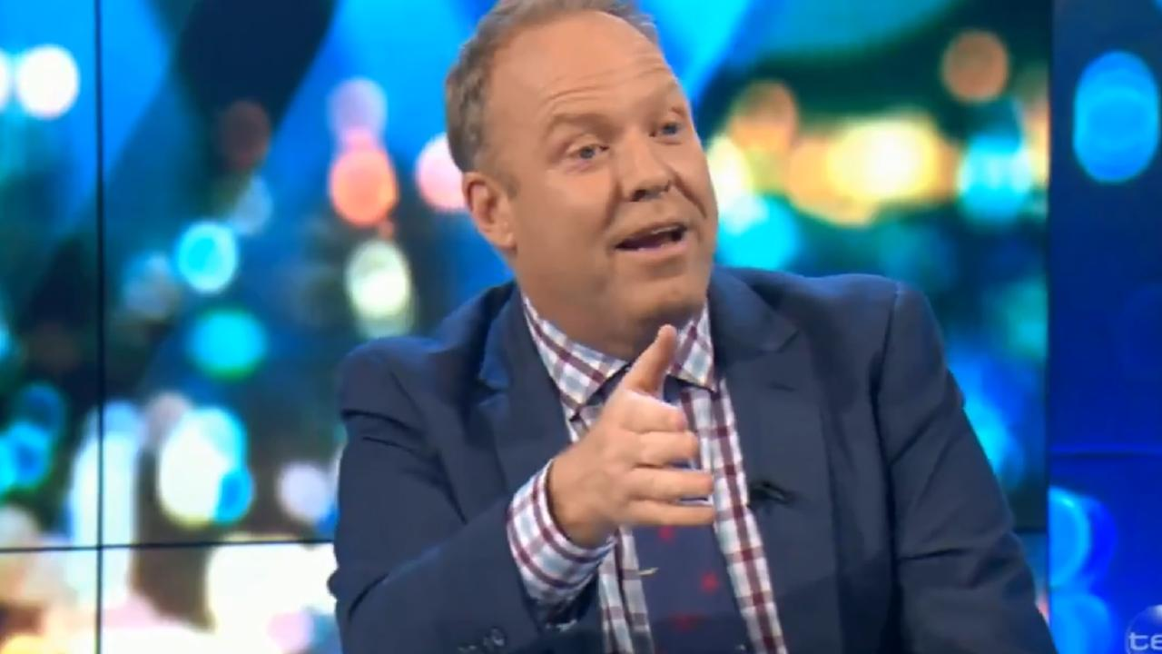 Peter Helliar and Steve Price got fired up over the Opera House controversy during The Project on Monday night.