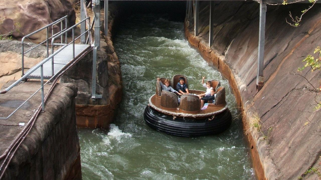 The Dreamworld Thunder River Rapids Ride.