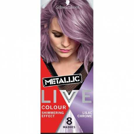 Schwartzkopf Live Colour Metallic Lilac Chrome down to $2.74.