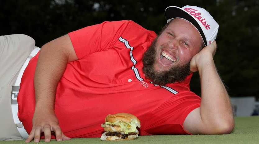 Andrew 'Beef' Johnston will bring plenty of character to the Australian PGA. (Sam Greenwood/Getty Images)