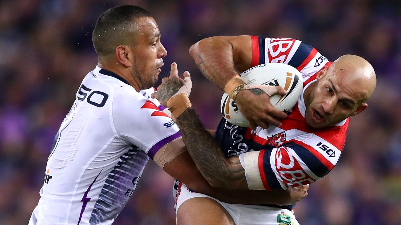 Blake Ferguson is bound for the Eels after helping the Roosters win the premiership. Picture: Getty Images