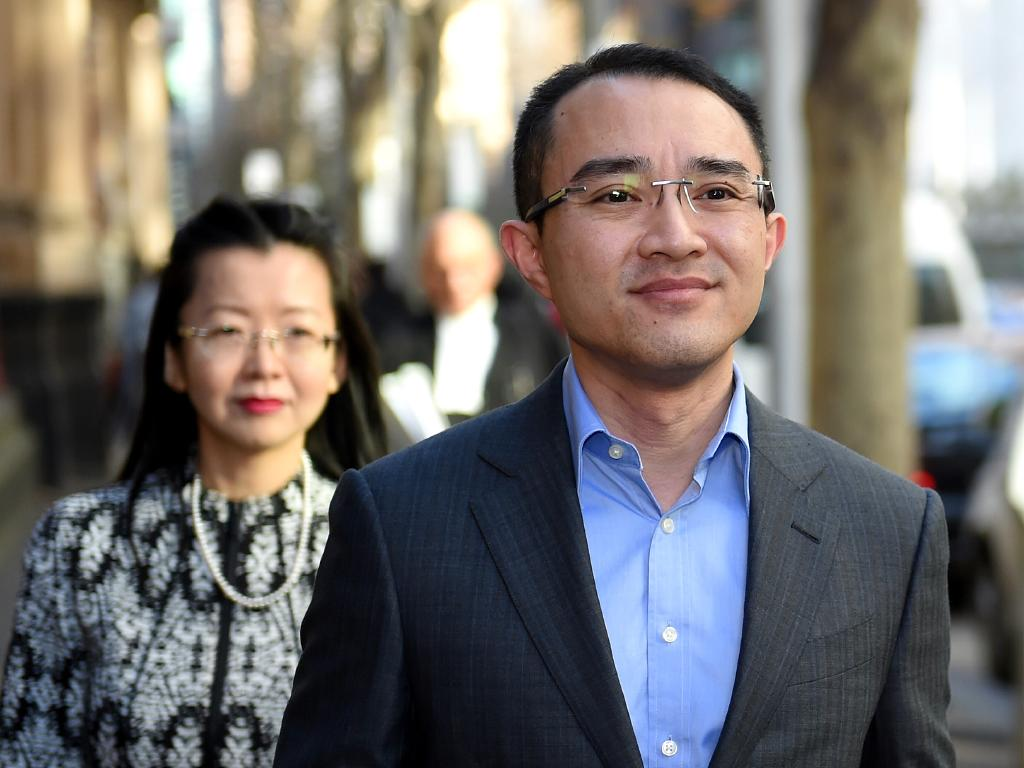 Since his miraculous survival, Dr Michael Wong has become an outspoken advocate for improved security at Australian hospitals. Picture: Nicole Garmston