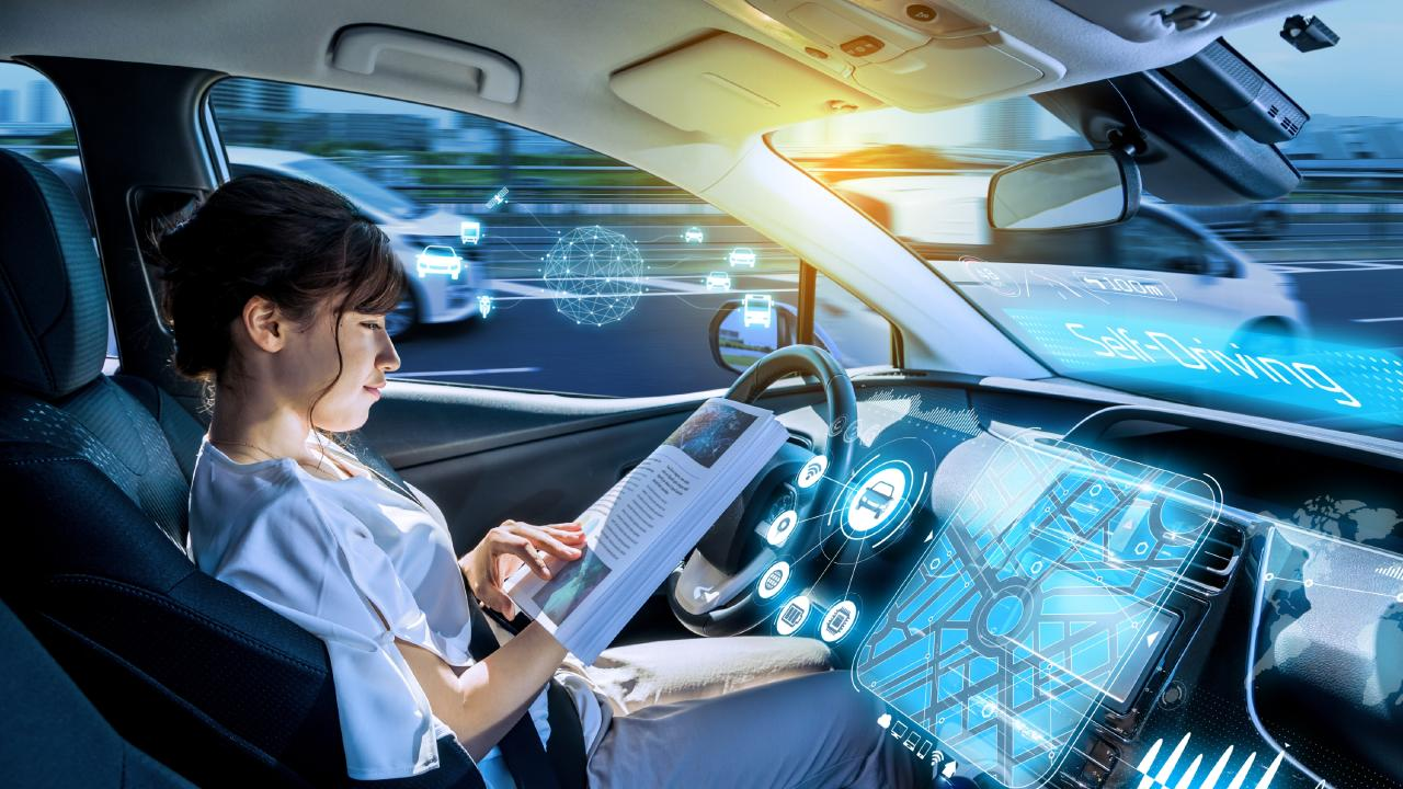 Apart from allowing drivers to do other things, such as read, it's hoped self-driving cars will help solve looming congestion nightmares and improve safety.