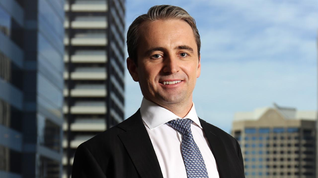 Commonwealth Bank chief executive Matt Comyn will rebate all grandfathered commissions to financial planning customers. Picture: James Croucher