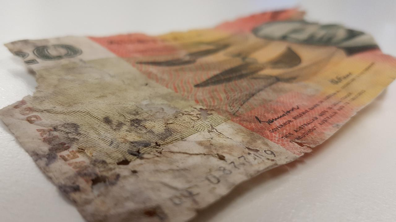 Currency dealer Ronnie Shahar travels the world buying up damaged coins and banknotes, but he says central banks and governments are increasingly unwilling to redeem their own legal tender.