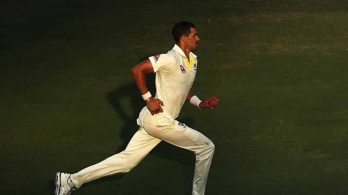 Mitchell Starc had to wait 36.2 overs to take his first wicket.