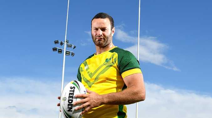 Captain Boyd Cordner is the most experience player in the Aussie side.