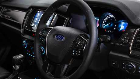 Ford has added active noise cancellation to block out road and engine noise.