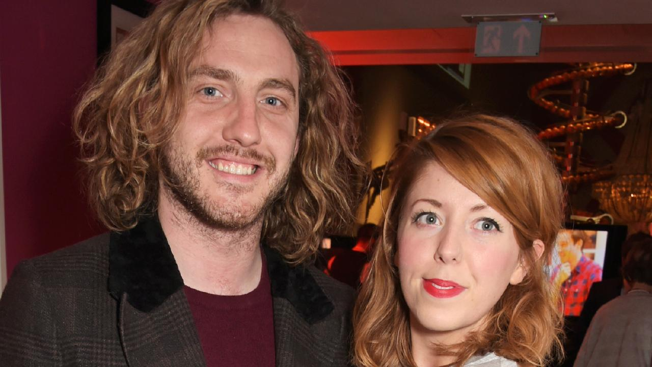 Seann Walsh and Rebecca Humphries. Picture: Getty