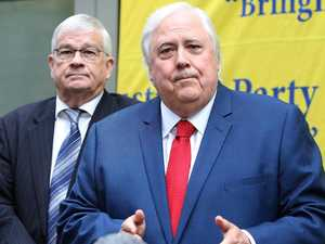 Clive's cash splash for politics tilt tops $1m