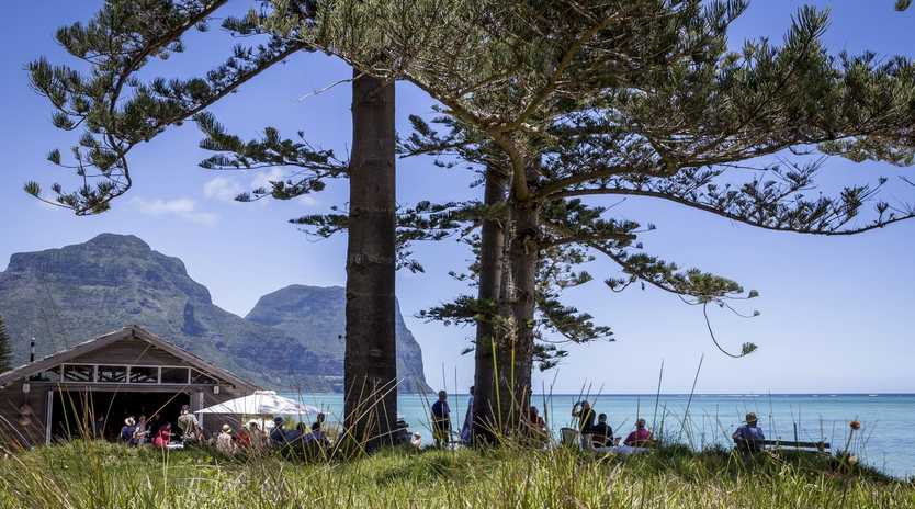 Summer fun at Lord Howe Island's inaugural Summer Festival in January 2019.