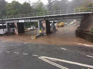DELUGE: Suburb cops 56mm of rain in 15 minutes