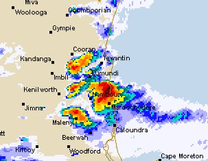 Sunshine Coast cops hammering from intense storms